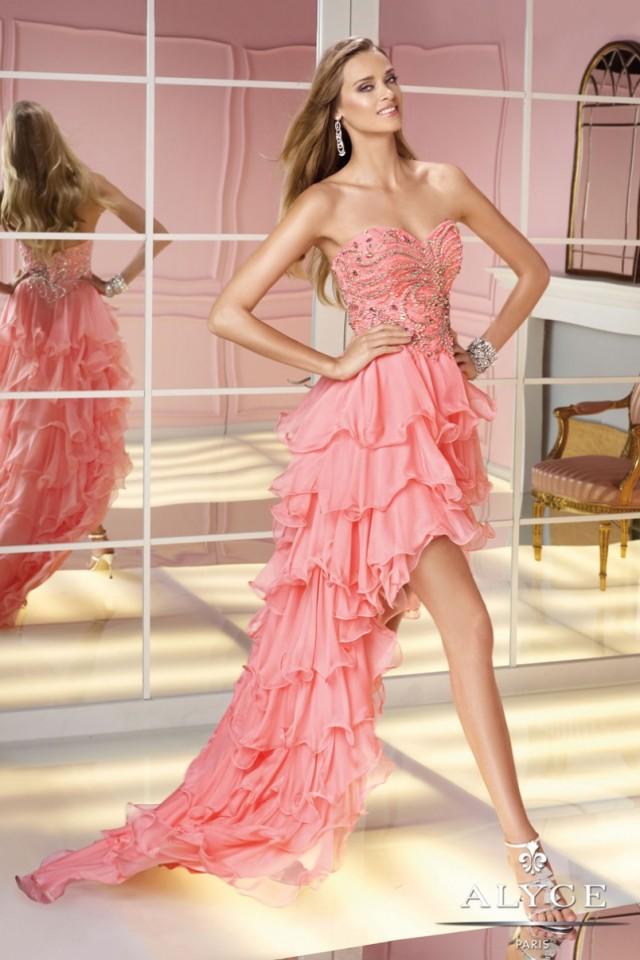 Magnífico Vestidos De Fiesta Alyce Ideas Ornamento Elaboración ...