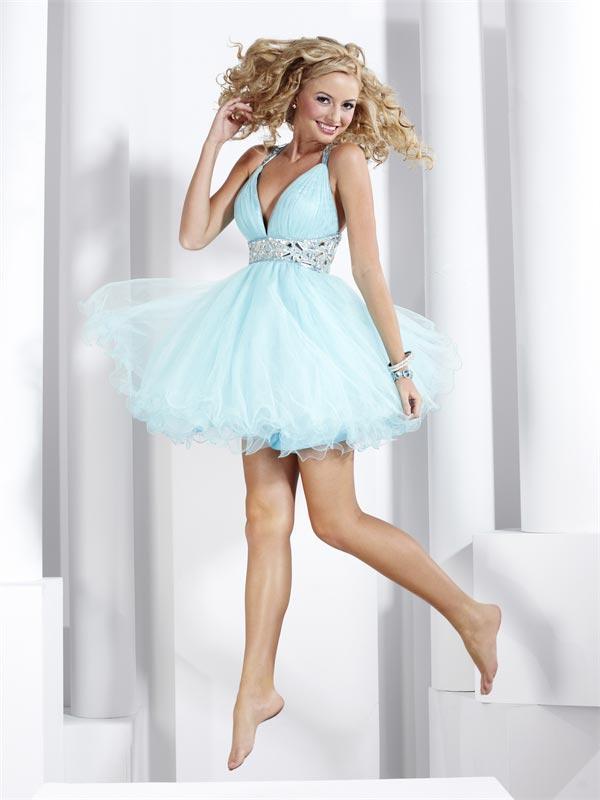 15 Soft Blue Evening Dresses