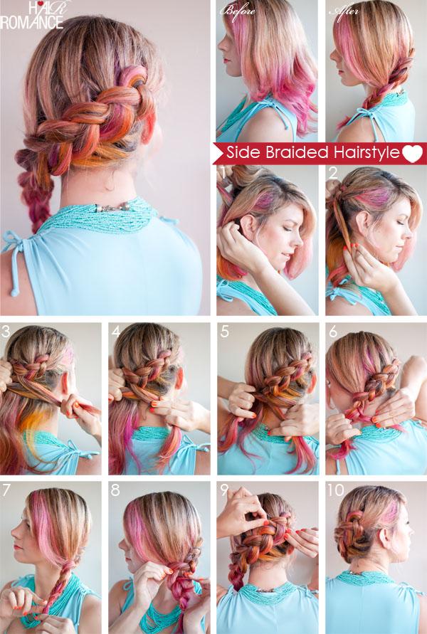 beautiful braided tutorials   warm spring days