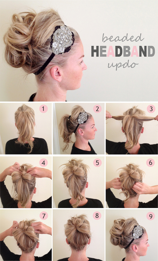 15 Fancy Up-do Tutorials
