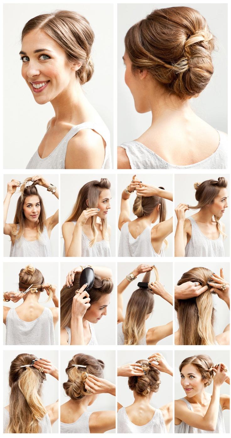 Phenomenal 15 Fancy Up Do Tutorials Short Hairstyles Gunalazisus
