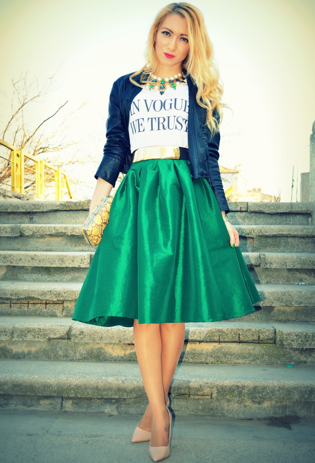 how to look good in skirts
