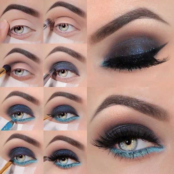 Create 16 Different Makeup Looks That Will Make Your Blue Eyes ...