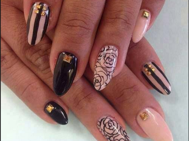 15 classy nail designs image via acrylicnaildesigns prinsesfo Image collections