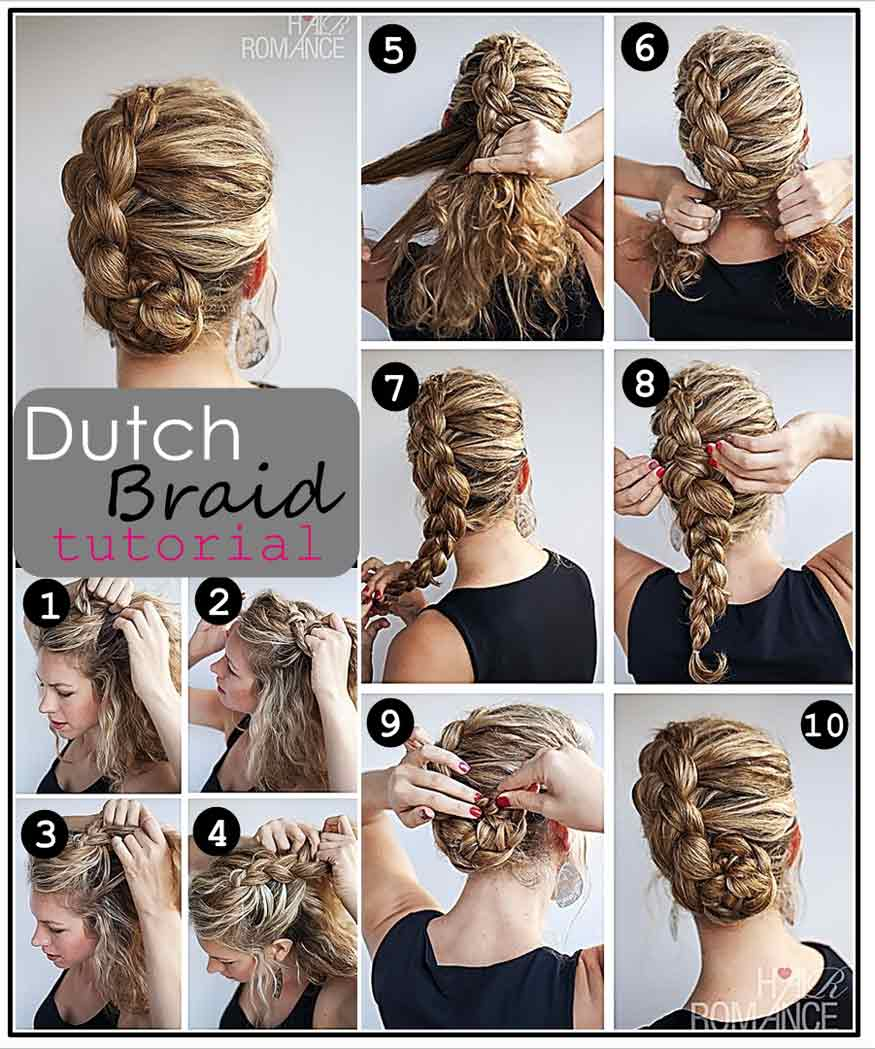 15 fancy up do tutorials dutch braid up do solutioingenieria Image collections