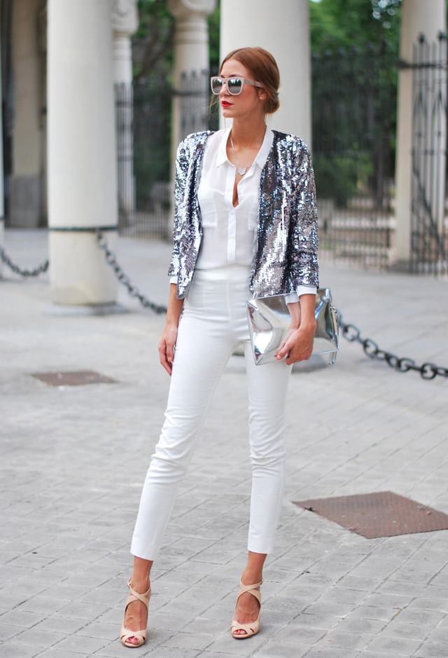 Stylish Spring In Total White
