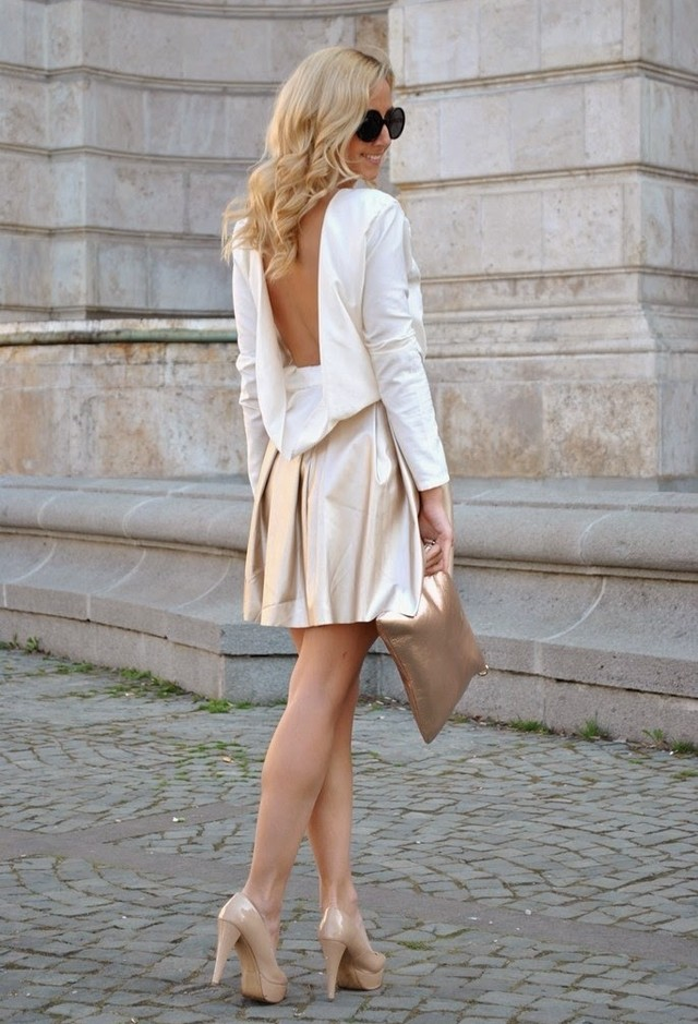 19 Dresses curto lindo de Primavera
