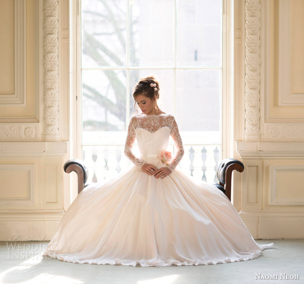 Garden Wedding Gowns: Bridal Collection By Naomi Neoh 2014