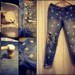 10 DIY Printed Jeans Crafts