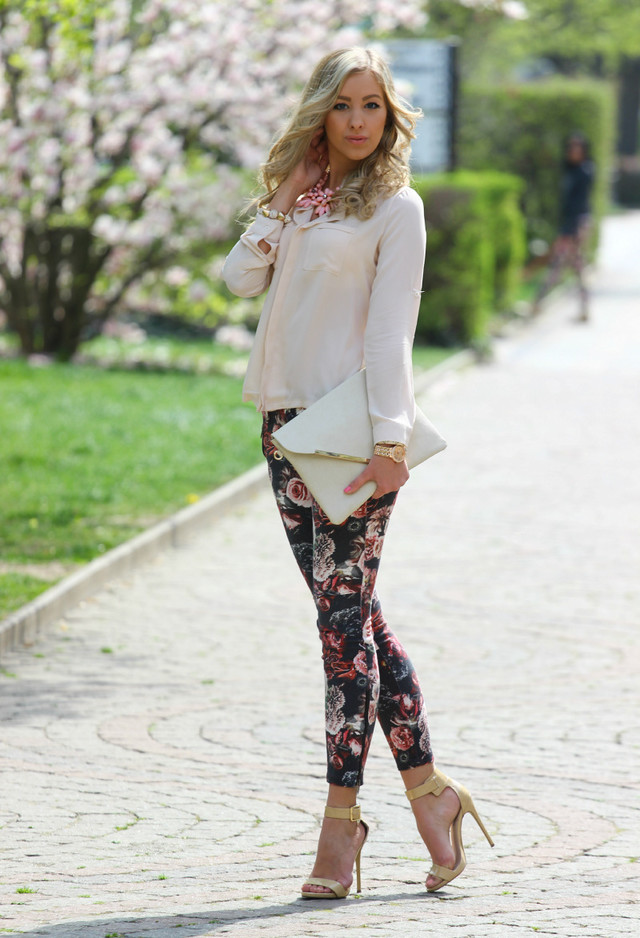 17 Ways To Combine Your Floral Pants