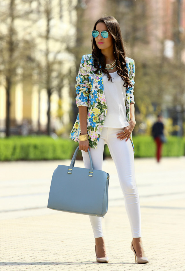 Bring Your Wardrobe Into Full Bloom With These Spring-Ready Floral Blazers