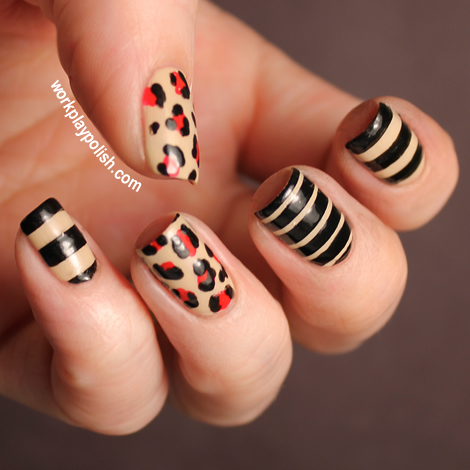 16 Striped Nail Arts
