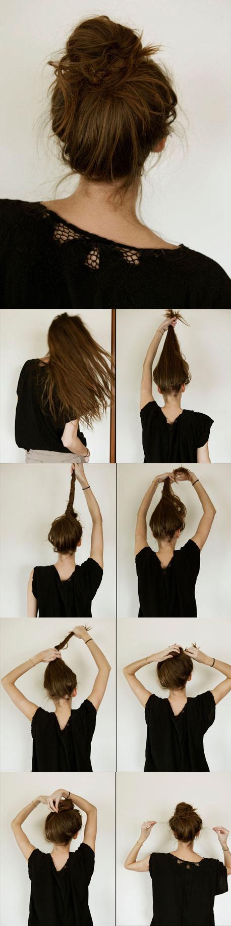 Cool 15 Fancy Up Do Tutorials Short Hairstyles Gunalazisus