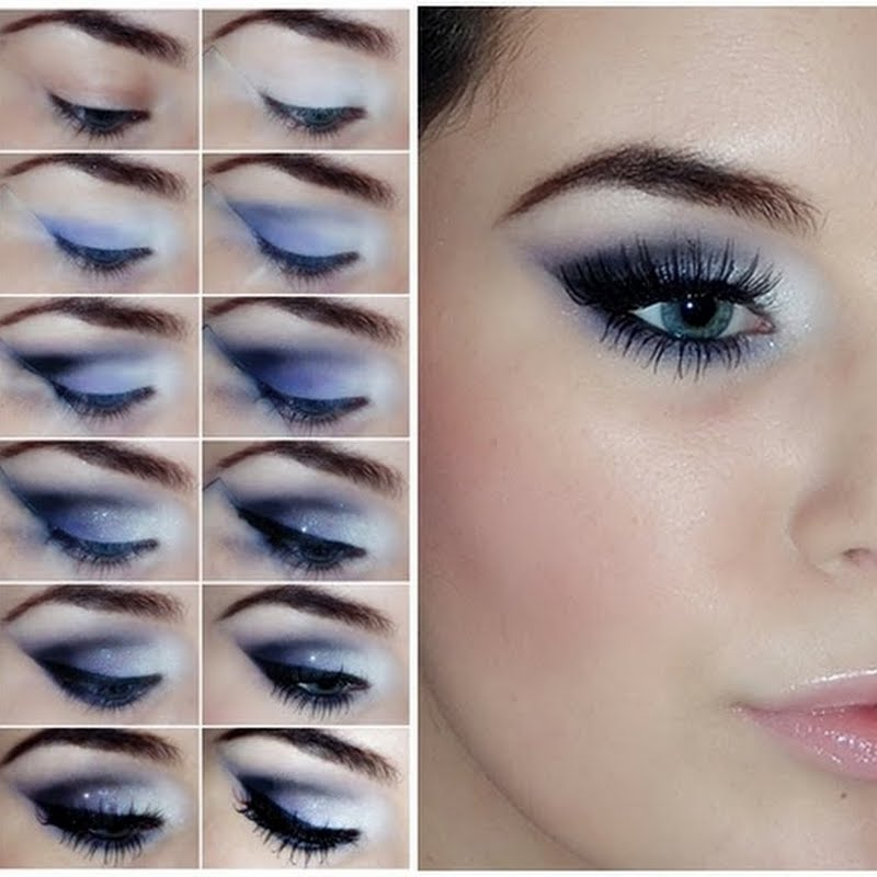 eye makeup tutorial blue eyes | Cosmetics Pictranslator