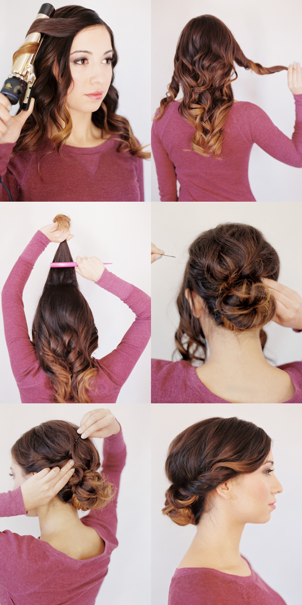 15 Fancy Updo Tutorials
