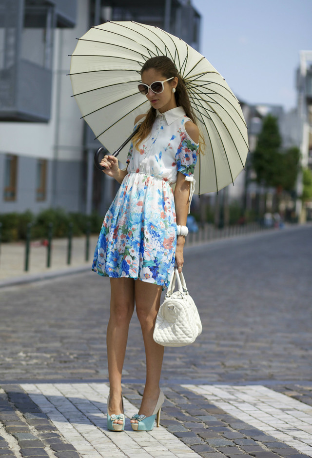 Collection Short Spring Dressesفساتين قصيرة 2014