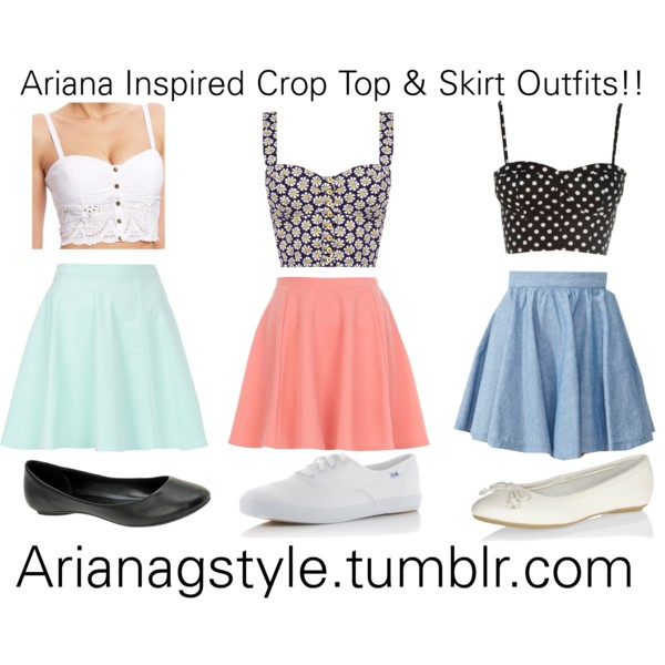 THE AGENDA FOR THIS SUMMER SAYS: CROP TOPS