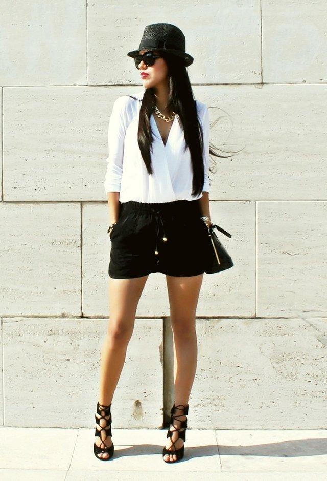 Dressy Black Blouse