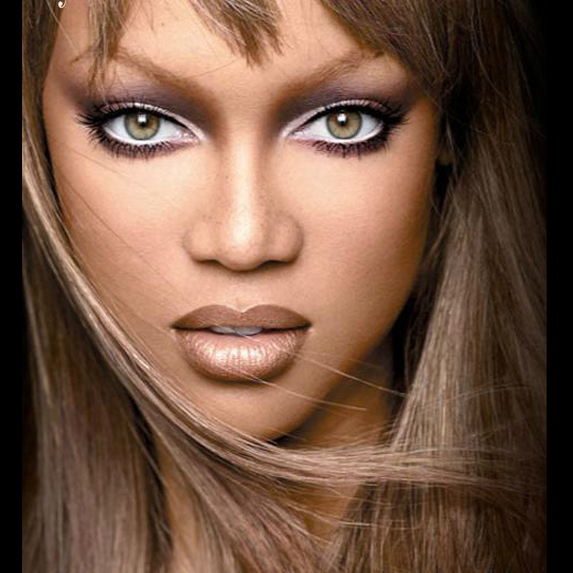 Tyra Banks Clothing Line: White Eyeliner On The Inside Of Your Bottom Lash Line Can