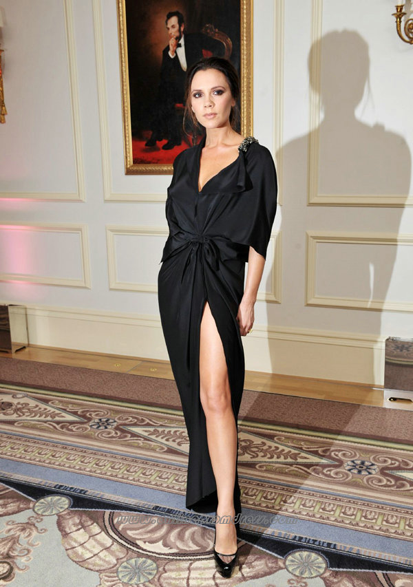 15 Glamorous High Slit Dresses For An Elegant Look