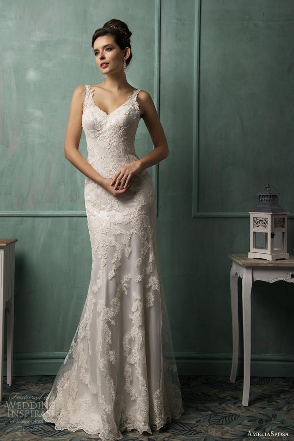Spanish Lace Wedding Dress 34 Nice  amelia sposa wedding