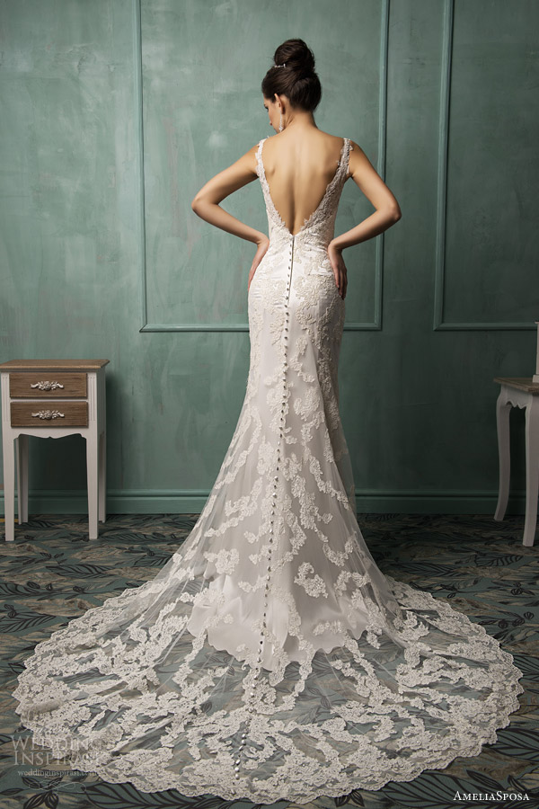Amelia sposa wedding dress 2014 collection for Amelia sposa wedding dress