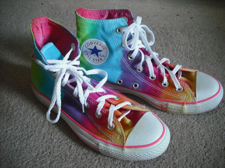 Sparkly High Top Shoes