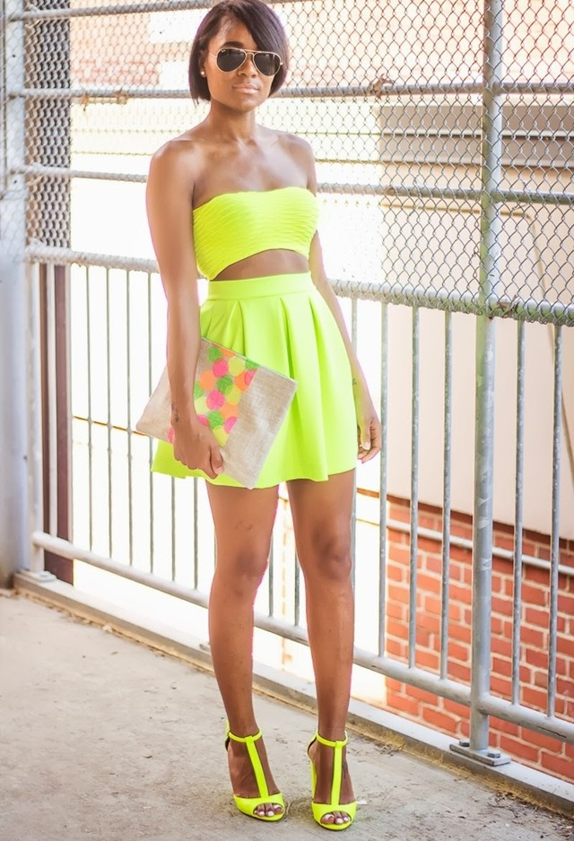 Neon Means Fluorescent, Bright And Happy!