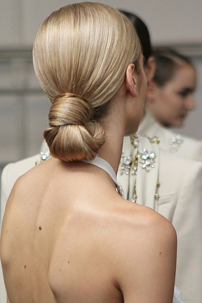 Go For Low-Bun Hairstyles If You Are On The Go And For Times When You Need To Go From Day-To-Evening Hairstyle