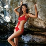 The Macedonian Beauty Katarina Ivanovska Fronts The Campaign For Pain De Sucre 2014 Swimwear