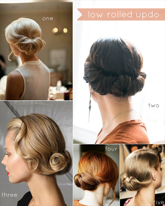 Low Updo Is The Biggest Hairstyle Trend Nowadays