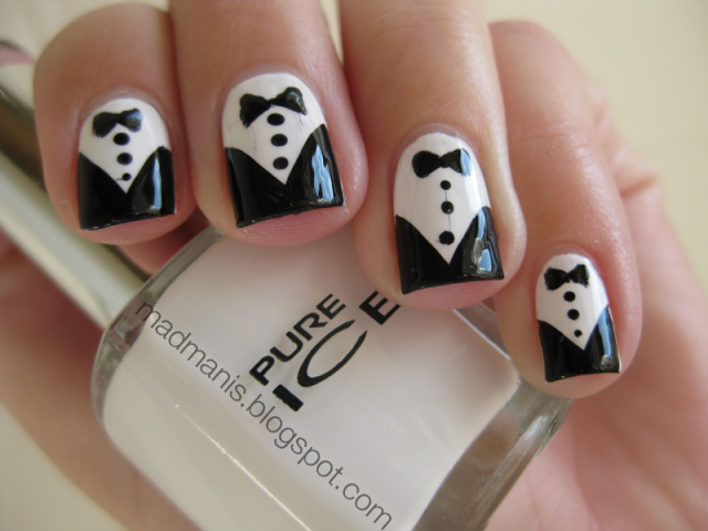 nail-art-polish-tuxedo-inspired-black-and-white-nail-design-with-black-bow-black-and-white-nail-designs
