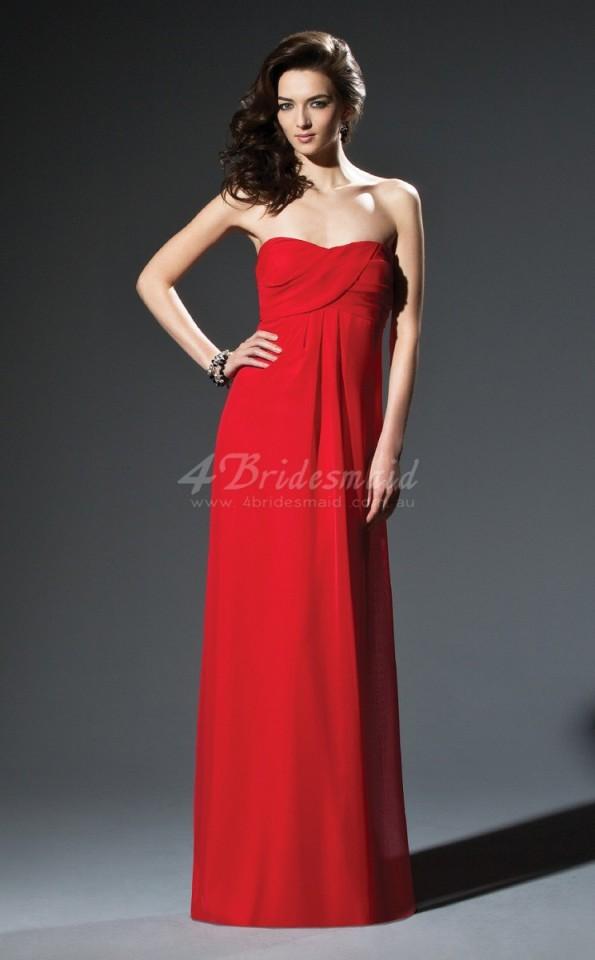 red-chiffon-sheath-sweetheart-floor-length-bridesmaid-dresses(bd669)