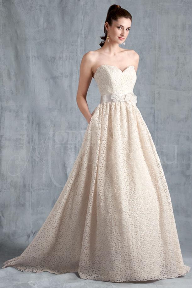 EDIE bridal gown by Modern Trousseau