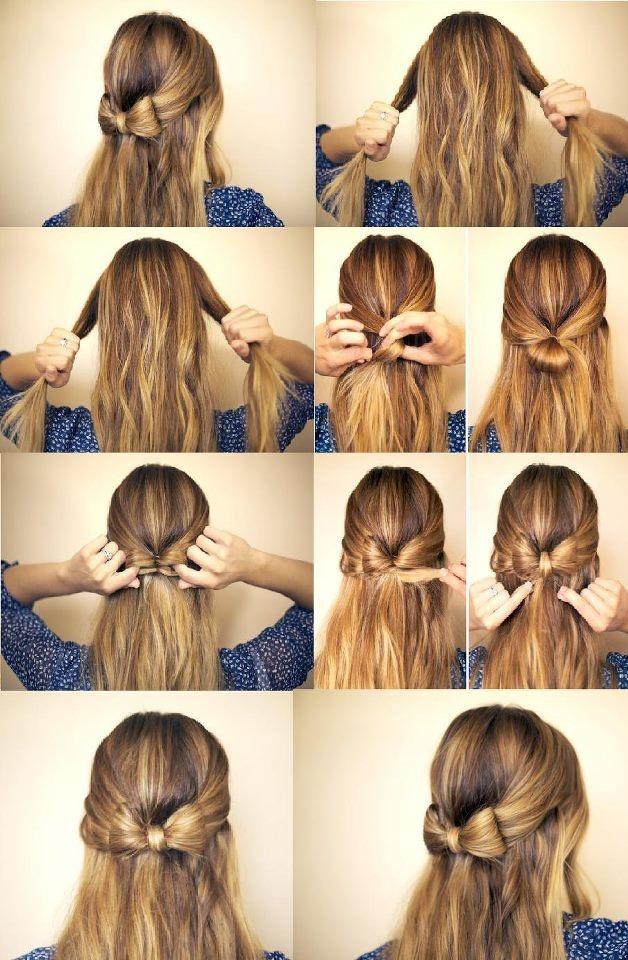 Outstanding Cute Simple Half Up Down Hairstyles Best Hairstyles 2017 Short Hairstyles Gunalazisus