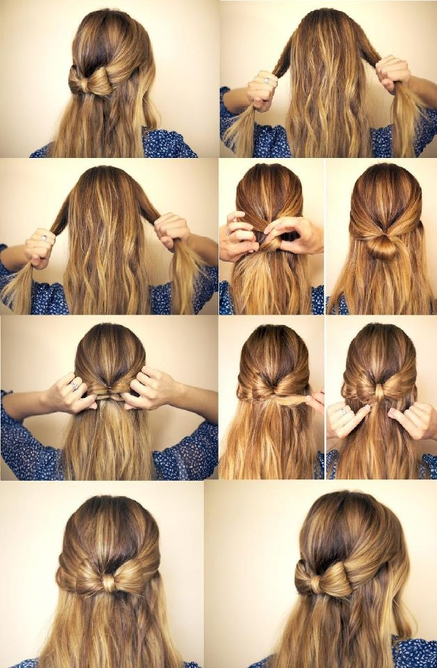 Strange Cute Simple Half Up Down Hairstyles Best Hairstyles 2017 Short Hairstyles For Black Women Fulllsitofus