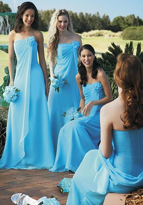 blue-bridesmaid-dresses-for-summer-wedding