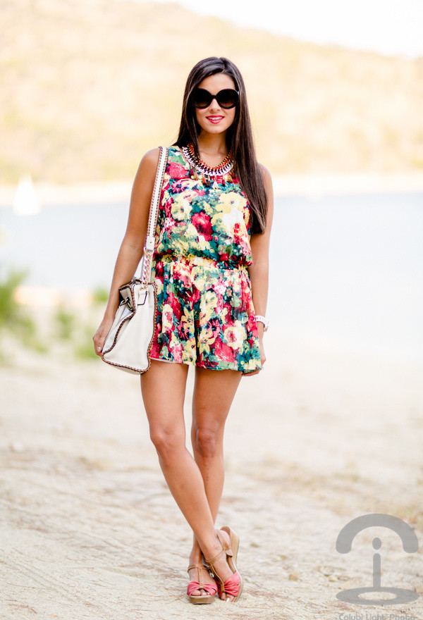 Get An Instant Outfit Perfection With Floral Jumpsuits