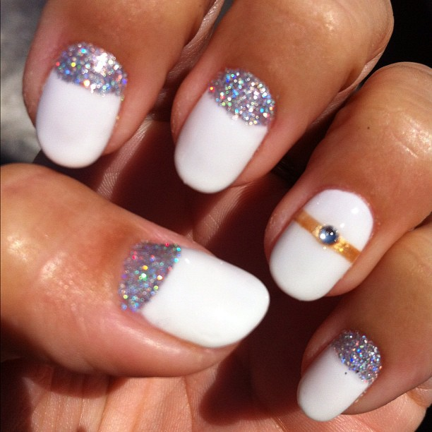 Celebaraty Beauty Tips 2015 Cute Nail Art Designs