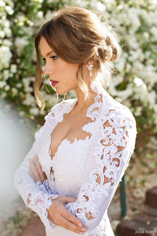 julie-vino-spring-2014-sharon-long-sleeve-wedding-dress-close-up