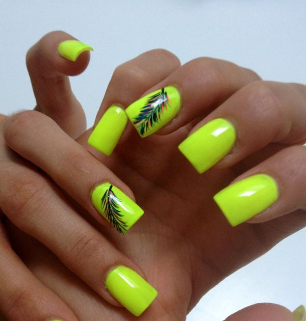 25 Fun Ways to Wear Ballerina Nails | Page 2 of 3 | StayGlam |Neon Blue Nails