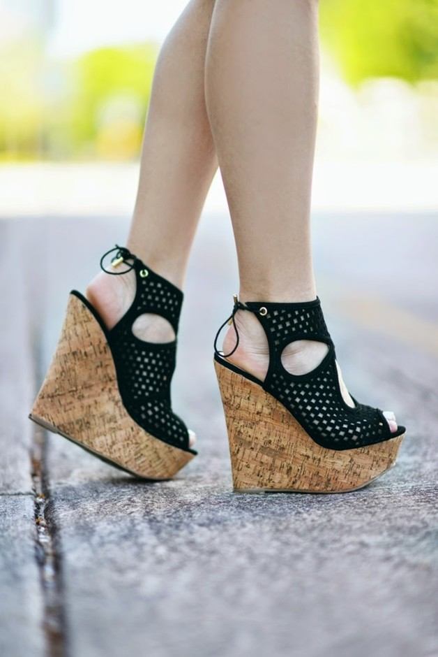Give Your Outfit Some WEDGE