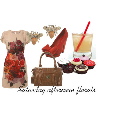 saturday afternoon florals polyvore