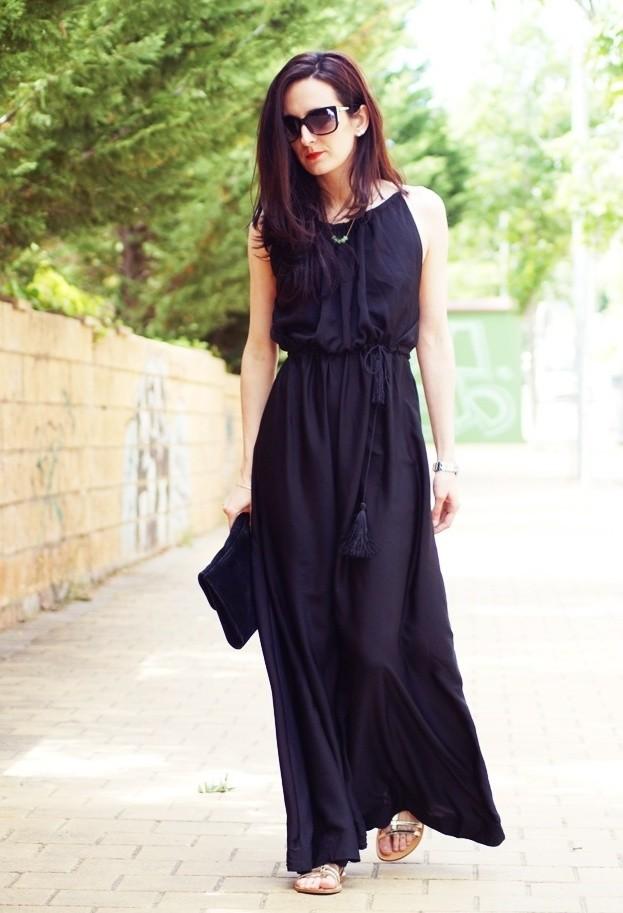 17 belo casual maxi vestidos para os dias quentes de Verão