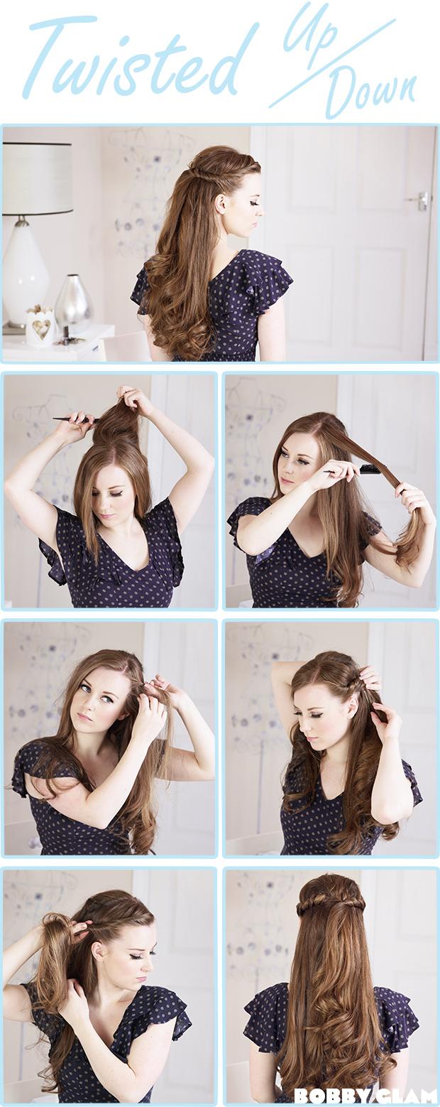 Strange 13 Half Up Half Down Hair Tutorials Short Hairstyles Gunalazisus