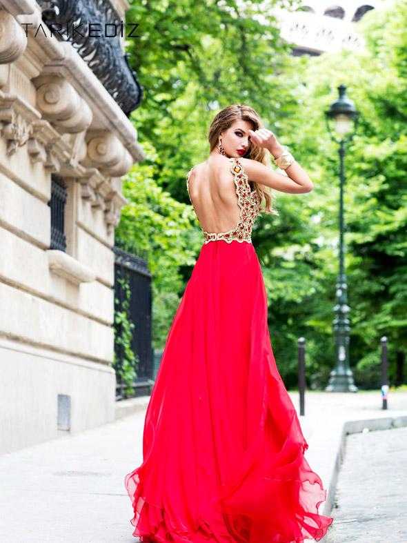 The Outstanding Glamorous Dresses By Tarik Ediz
