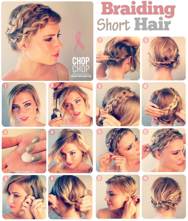 Swell 15 Cool And Convenient Summer Hair Tutorials Short Hairstyles Gunalazisus