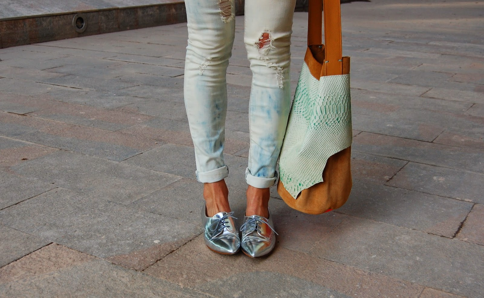 A Pair Of Silver Shoes Is Essential For The Summer