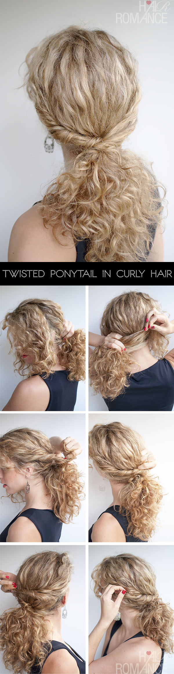 Hair-Romance-Twisted-Ponytail-Hair-Tutorial-in-curly-hair