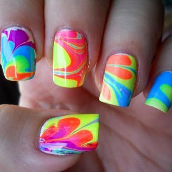 Neon-Color-Nail-Art-Ideas